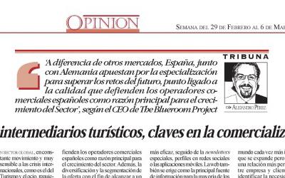 """Alejandro Pérez Ferrant, CEO de The Blueroom Project, opina sobre """"El futuro de la distribución de los viajes"""""""