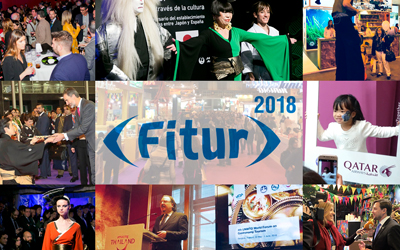 Multi-disciplinary successful performance by The Blueroom Project at Fitur 2018