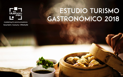 "The Blueroom Project presents the I edition of ""Analysis on Gastronomic Tourism 2018"""