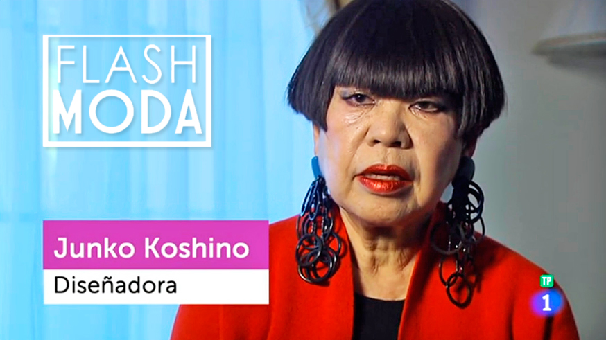 Japan and fashion on the Spanish National Television