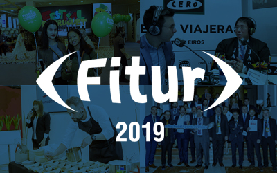 The clients of The Blueroom Project excel in FITUR 2019
