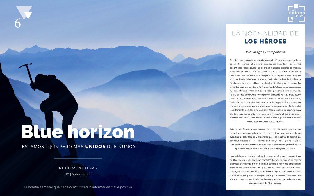 Ya está disponible el sexto número de Blue Horizon: noticias positivas