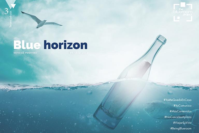 Ya está disponible el tercer número de Blue Horizon: noticias positivas