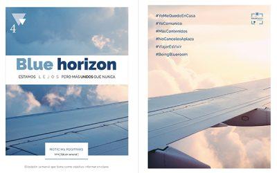 Ya está disponible el cuarto número de Blue Horizon: noticias positivas
