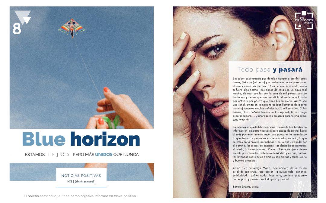 Ya está disponible el octavo número de Blue Horizon: noticias positivas