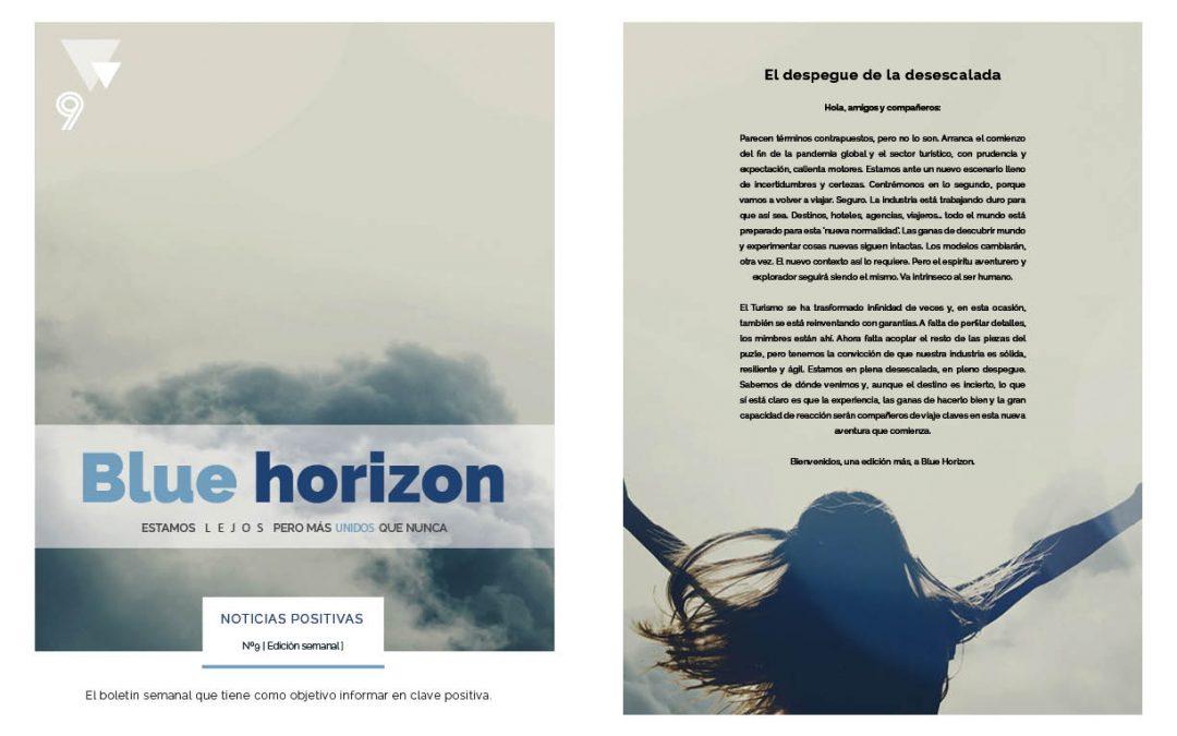 Ya está disponible el décimo número de Blue Horizon: noticias positivas