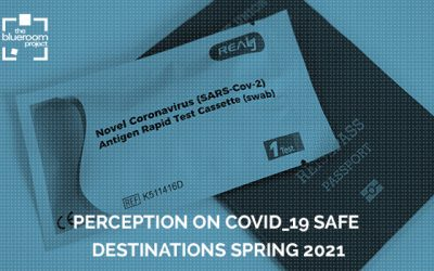 The Blueroom Project presents  I Study of Perception on Safe Destinations. Spring 2021-Covid_19