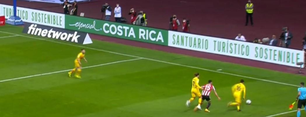 Costa Rica en la final de la Copa del Rey de Fútbol 2021
